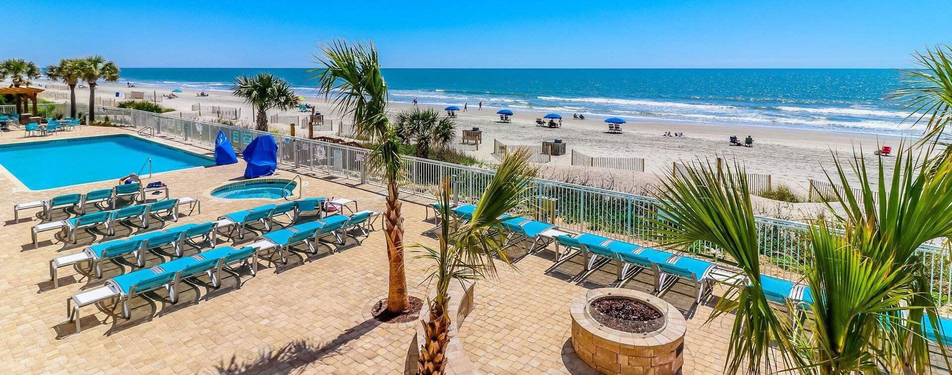 Holiday Inn Oceanfront At Surfside Beach South Carolina Home