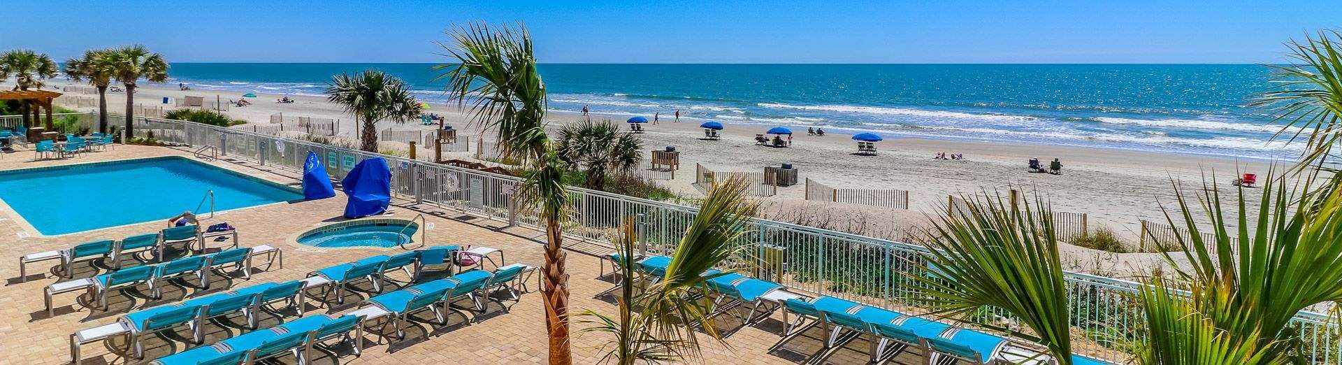Contact To Holiday Inn Oceanfront At Surfside Beach South Carolina