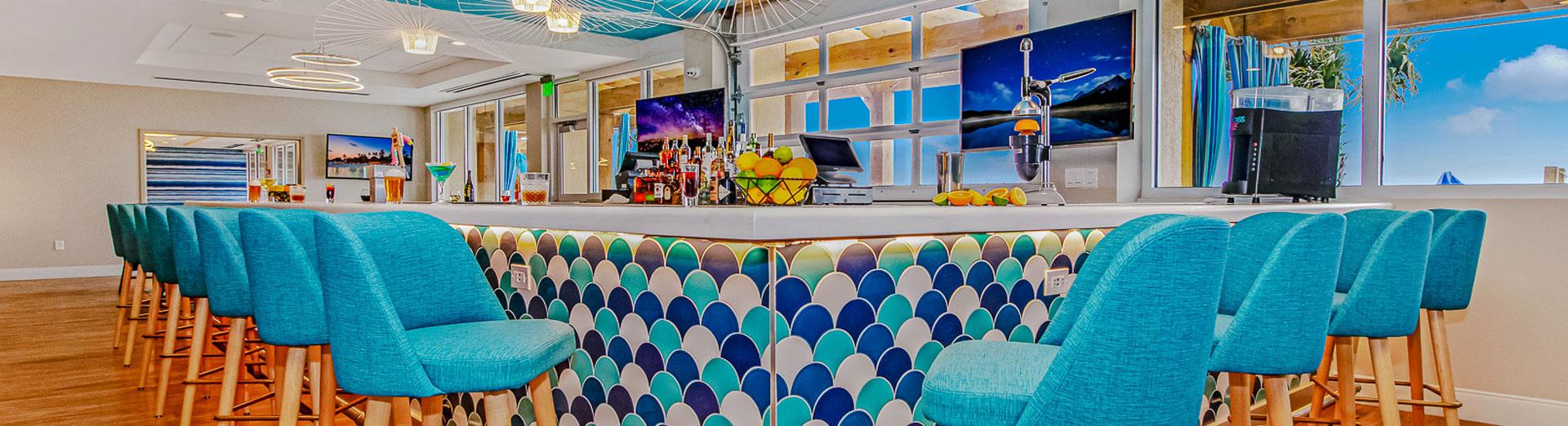 Restaurant & Bar At Holiday Inn Oceanfront At Surfside Beach South Carolina